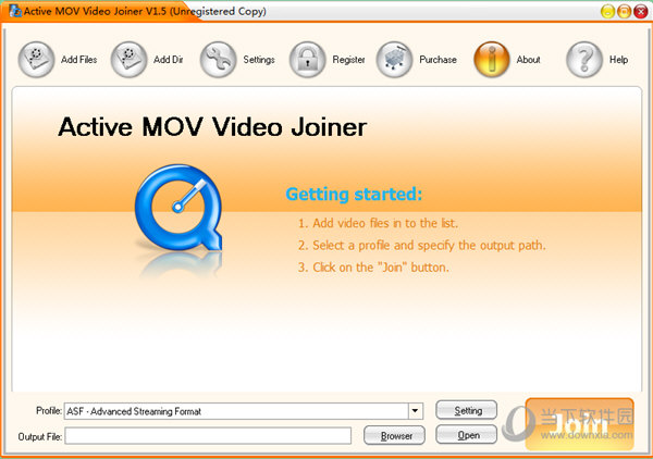 Active MOV Video Joiner