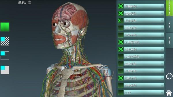 人体解剖学图集APP破解版 V3.9.8 安卓免费版截图1