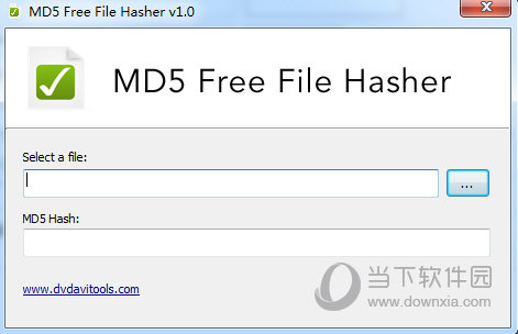 MD5 Free File Hasher