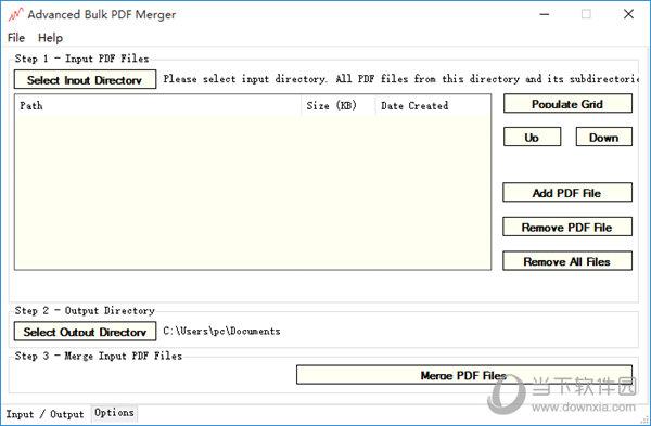 Advanced Bulk PDF Merger