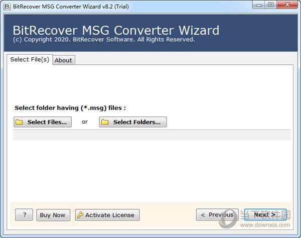 BitRecover MSG Converter Wizard