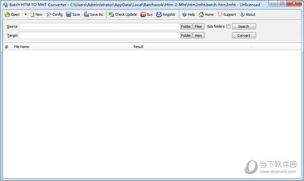 Batch HTML to MHT Converter