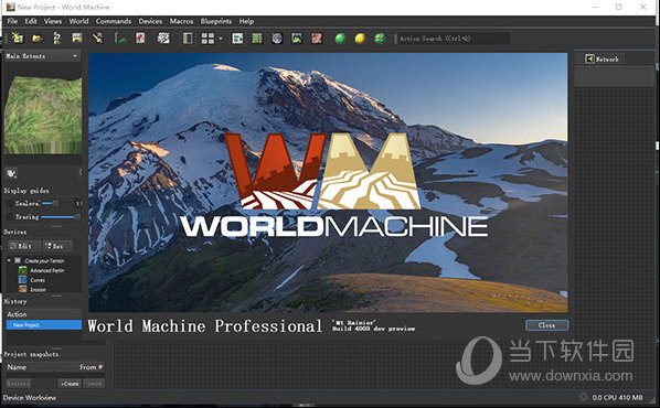 World Machine 2.3.7地形制作软件中文汉化版