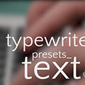 Typewriter Text Presets(AE光标打字效果预设) +5 免费版