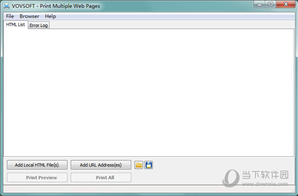 Print Multiple Web Pages