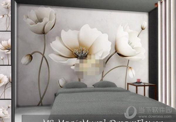 模拟人生4优雅花卉壁画MOD