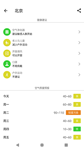 在意空气 V4.7.1 安卓版截图3