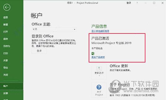 Project2019专业版激活工具