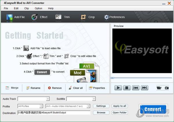 4Easysoft Mod to AVI Converter