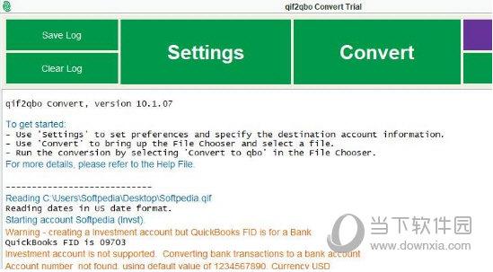 QIF2QBO Convert