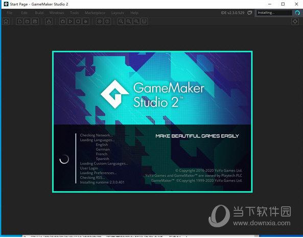 GameMaker Studio2中文破解版