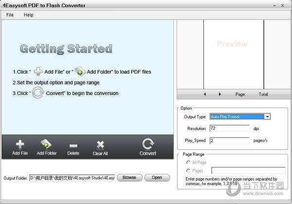 4Easysoft PDF to Flash Converter