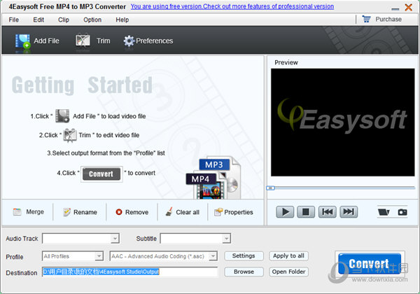 4Easysoft Free MP4 to MP3 Converter