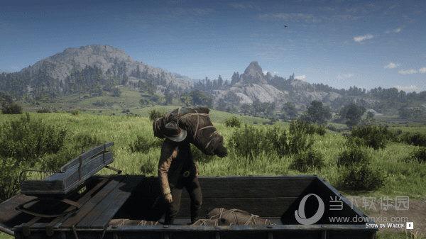 荒野大镖客2狩猎马车MOD