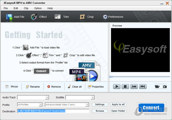 4Easysoft MP4 to AMV Converter
