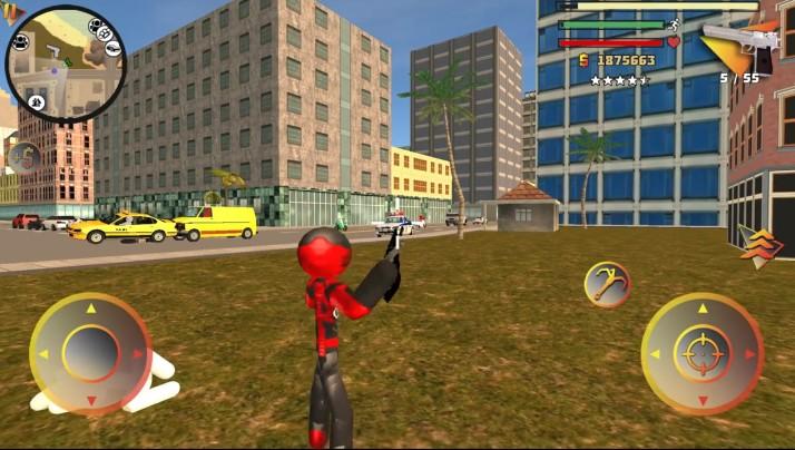 火柴人绳索英雄3无敌版 V8.0.3 安卓中文版截图1