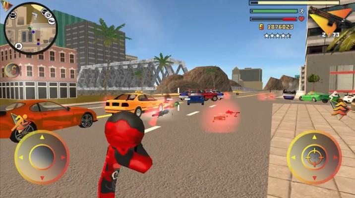 火柴人绳索英雄3无敌版 V8.0.3 安卓中文版截图2