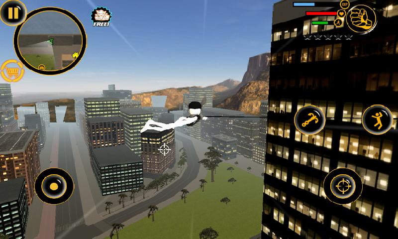 火柴人绳索英雄3无限金币版 V8.0.3 安卓版截图1