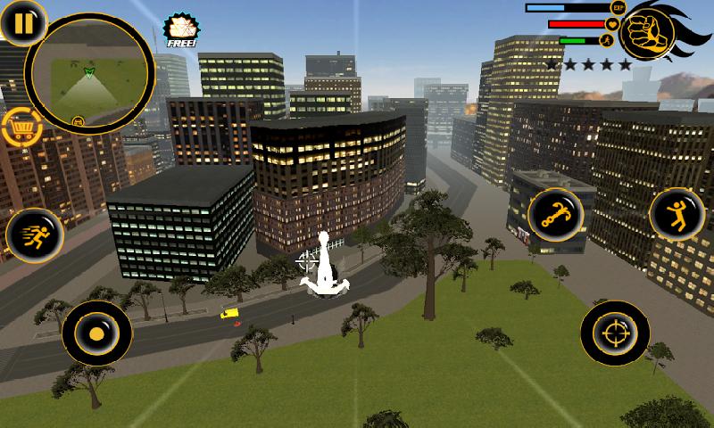 火柴人绳索英雄3无限金币版 V8.0.3 安卓版截图4