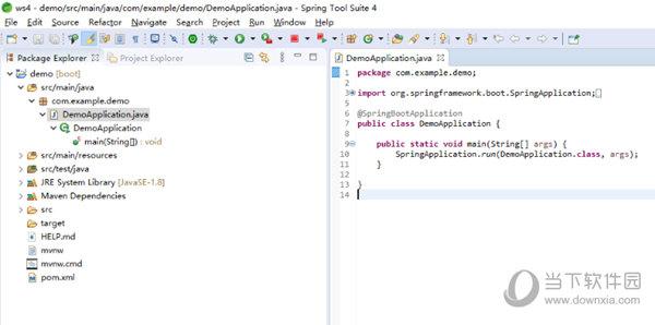 Spring Tool Suite 4汉化版