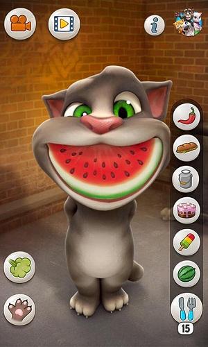 会说话的汤姆猫内购版 V3.6.2 安卓版截图1