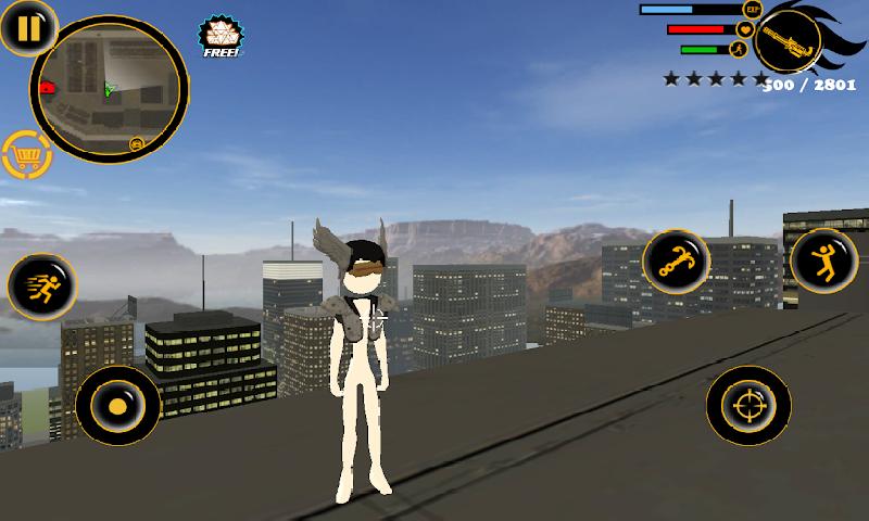 火柴人绳索英雄3中文破解版 V8.0.3 安卓版截图5