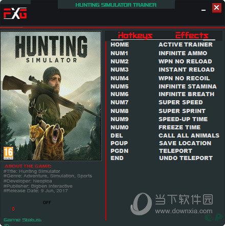 模拟狩猎2修改器