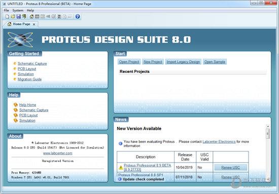proteus8.0