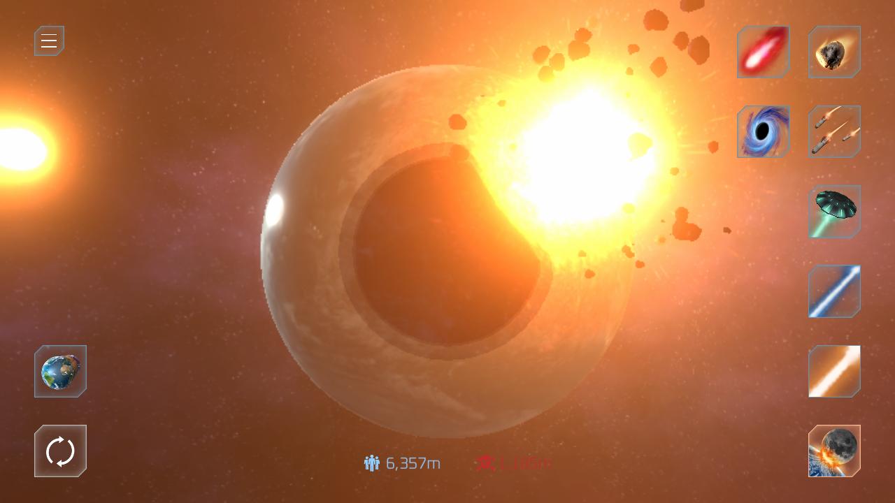 星球毁灭模拟器国际版 V1.0.3 安卓版截图3