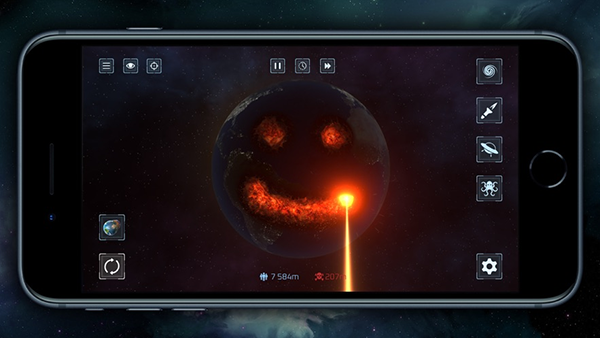 星球毁灭模拟器金币破解版 V1.0.3 安卓版截图1