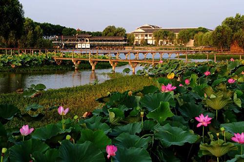 洪湖蓝田生态旅游风景区