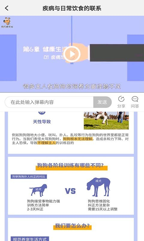 宠物训养小课堂 V1.0.2 安卓版截图3