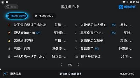 酷狗音乐tvsvip破解版 V1.2.4 安卓最新版截图3