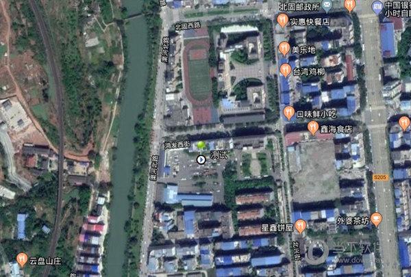奥维互动卫星混合地图下载