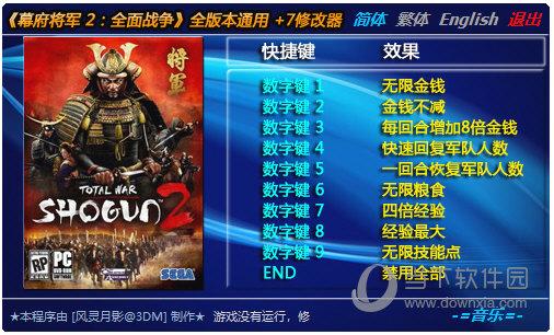 幕府将军2全面战争全版本修改器