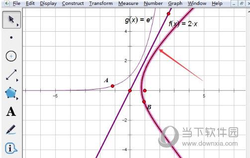 几何画板怎么画函数关于直线对称的图像
