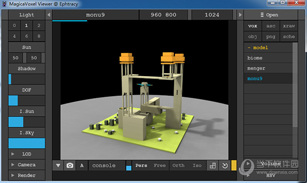 MagicaVoxel Viewer