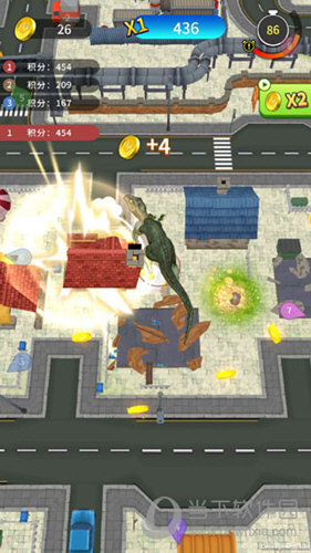 恐龙破坏城市游戏下载