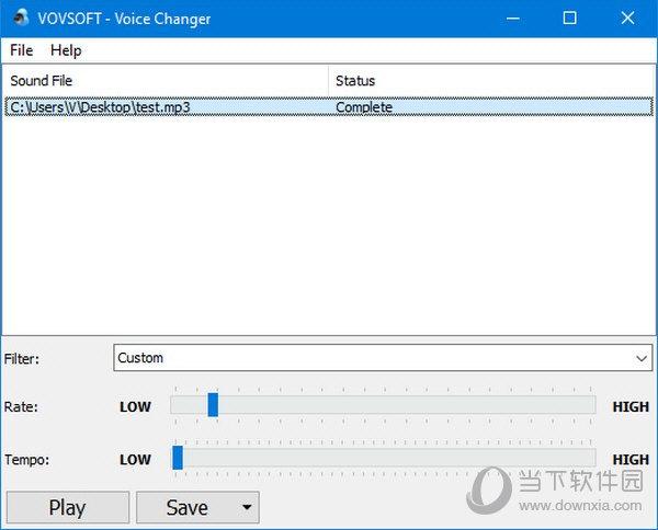 Vovsoft Voice Changer