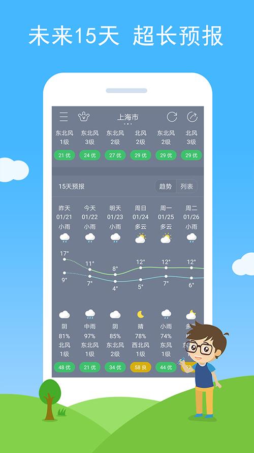 七彩天气手机版 V2.18 安卓版截图2