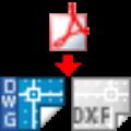 pdf转dwg转换器破解版 V2021 绿色纯净版
