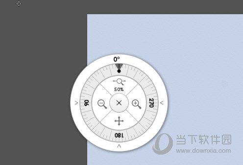 画布位置调节器