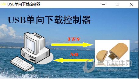 USB单向传输控制器