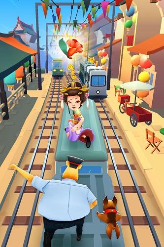 地铁跑酷九游版本 V3.24.0 安卓版截图3