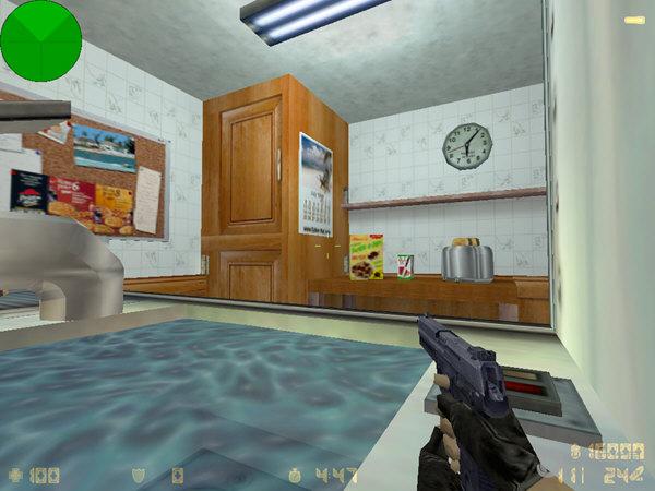 CS1.6巨人厨房地图